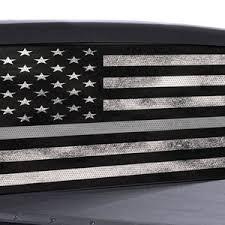 Truck Rear Window Decal Thin Blue Line American Flag Etsy
