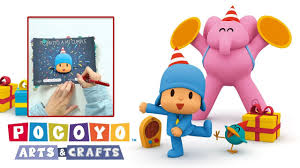Pocoyo Arts Crafts Invitacion De Cumpleanos De Pocoyo