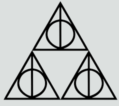 Geekcals Triforce Deathly Hallows Decal Design Your Space