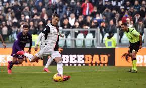 Juve, 3-0 alla Fiorentina: doppio Ronaldo su rigore e De ...