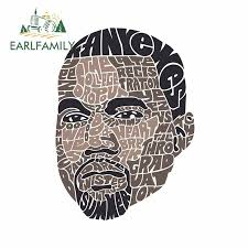 Earlfamily 13cm X 9 6cm For Kanye West Windshield Car Stickers Anime Graphics Decal Car Door Protector Occlusion Scratch Car Stickers Aliexpress