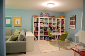 Fun And Functional Family Playroom Family Room Playroom Family Room Design Kid Friendly Family Room