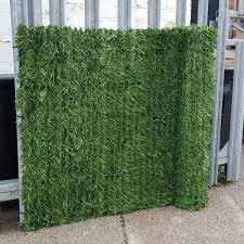 Screening True Evergreen Artificial Conifer Hedge Plastic Privacy Screening Garden Fence 3
