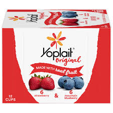 yoplait original yogurt strawberry