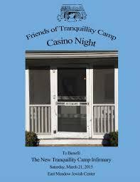 2015 Friends of Tranquillity Camp Casino Night Journal by Friends of  Tranquillity - issuu