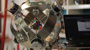 fastest robot to solve a rubik s cube