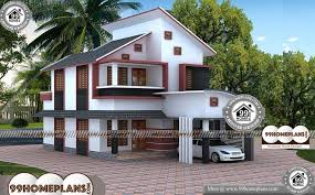 house plans with 3d front elevation