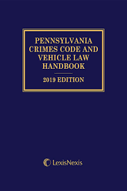 crimes code and vehicle law handbook