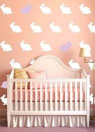 boys nursery rabbit vinyl decals