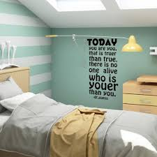 Wall Decal Decor Dr Suess Wall Quote Today You Are You Kids Room Nursery Vinyl Living Room Wall Sticker Black Small Baby B01l965n1o