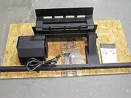 grate heater blower fan unit