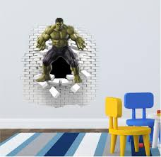 The Hulk Wall Decal Wall Sticker Wall Decals Wall Stickers Wall Decal Sticker