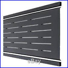 Uv Protected Black Finish Euro Style 6 Ft Lattice Composite Fence Top Kit Fence Kit New