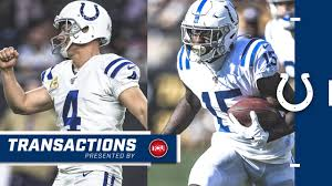 The Indianapolis Colts announced today that they have placed ...