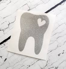 Dental Hygienist Decal Tooth Decal Dentist Hygienist Etsy