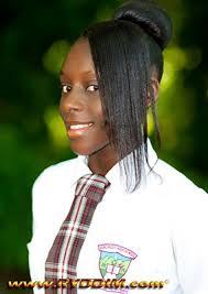 SKNVibes   Bio for Miss Verchids High School 2012: Crystal Greene