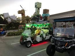 5th annual golf cart parade the