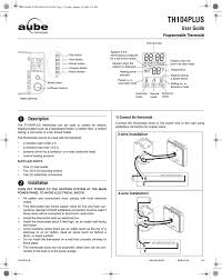 aube technologies th404 user guide