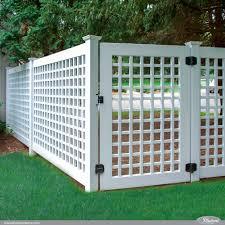 Lattice Fence W Old English Lattice Illusions Fence