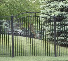 Custom Iron Gates American Fence Company Sioux City