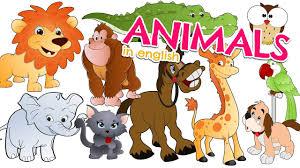 Nombres de los ANIMALES EN INGLÉS para niños - Vocabulario ...