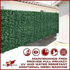 72 H Artificial Faux Ivy Leaf Privacy Fence Screen Decor Panels Outdoor Hedge Ebay Privacy Fence Screen Fence Screening Outdoor Privacy Panels