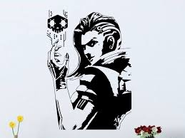 Overwatch Sombra Vinyl Wall Decal Decals By Droids