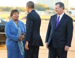 Obama confers first 2016 endorsement: Rep. Eddie Bernice Johnson