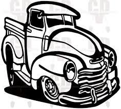 Old Truck Decal Vinyl Graphics Truck Decals Old Trucks