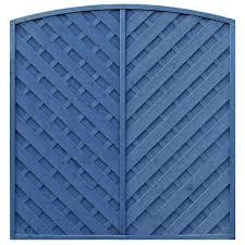 Grange St Lunair Arched With V Shape Grooved Slats Fence Panel 1 8m 1 8m Pack Of 3 Departments Diy At B Q