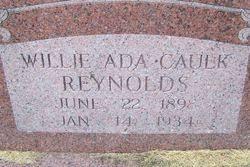 Willie Ada Caulk Reynolds (1898-1934) - Find A Grave Memorial