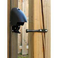 Yardlock 3 25 In X 2 5 In Cast Metal Combination Gate Lock Mbx 2016 3es The Home Depot Gate Locks Wood Fence Gates Fence Gate