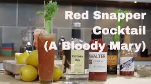 🔞 Red Snapper Cocktail |