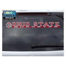 Ohio State Buckeyes Decal Strip Logo W