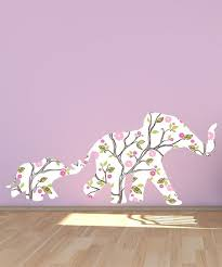 Lollipop Walls White Mom Baby Elephant Wall Decal Set Best Price And Reviews Zulily