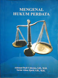 mengenal hukum perdata by akhmad budi cahyono