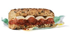 subway meatless meatball marinara