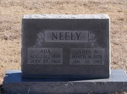 Ada Russell Neely (1878-1960) - Find A Grave Memorial