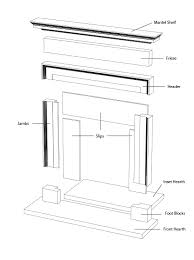 product guide fireplace size j