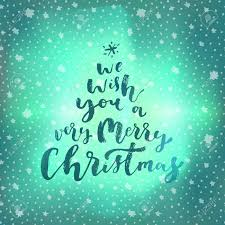 seasons greetings hand lettering merry christmas quote phrase