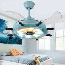 Kids Room Ceiling Fan With Lights Remote Control For Children Room Bedroom Ventilador De Techo 36 42 Inch Ceiling Fan With Light Ceiling Fans Aliexpress
