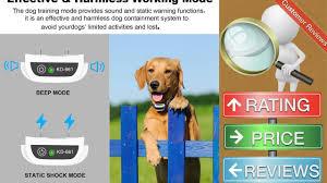 Utopb Wireless Dog Fence Pet Containment System Pets Dog Containment System Boundary Youtube