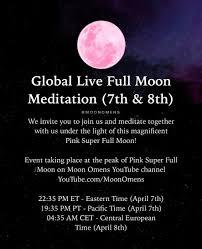 Pink Super Full Moon in Libra April 7, 2020 - Moon Omens