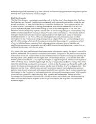 Page 1 NOTICE OF PREPARATION Metropolitan Transportation Commission San  Francisco Bay Area Regional Transportation Plan I Sustainable Communities  Strategy Environmental Impact Report To: Interested Agencies, Organizations  and Individuals ...