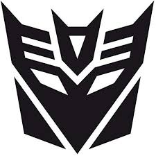 Amazon Com Transformers Decepticon Car Window Vinyl Decal Sticker Ts 02 Black 4 Inches X 4 Inches Home Kitchen