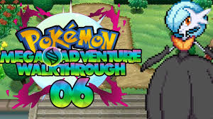 Pokemon Mega Adventure Walkthrough - Episode 6 (Floroma Town Gym) - YouTube