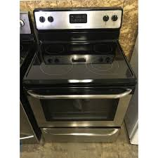stainless frigidaire range electric
