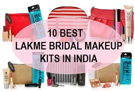 10 top best lakme bridal makeup kits