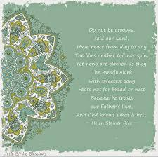 helen steiner rice poems