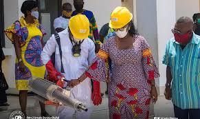 Ursula Owusu-Ekuful fumigates schools in Ablekuma West Constituency - |  GCFRNG - NIGERIA BREAKING NEWS TODAY | Breaking News